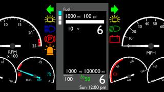 Freightliner Cascadia ATS Smartphone Dashboard