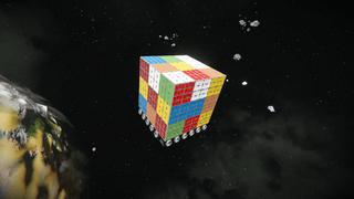 Rubix Cube Ship