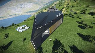 DZA' Aether Class Battle Cruiser - Heaven's Fall