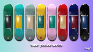 Tribe - Peeled Series Decks by Boba WuTang