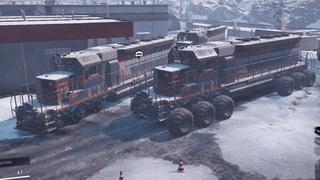 Diesel Locomotive Train drivable