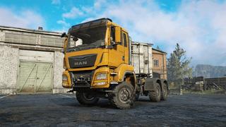 MAN Truck TGS 480 6X6