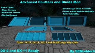 Advanced Shutters & Blinds Mod