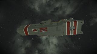 Battle frigate