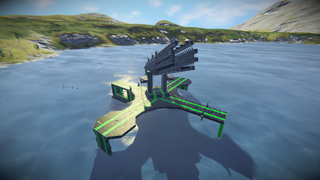 NIO rocket turet
