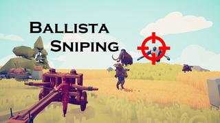 First-Person Ballista Sniper