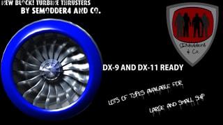 Jet Turbine Thrusters Mod Pack