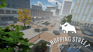Shopping Street By Yaky