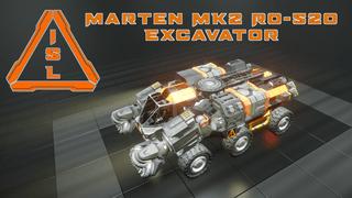 ISL - Marten MK2 RO-520 Excavator (No DLC)