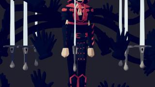 kro try to bete the dark samurai