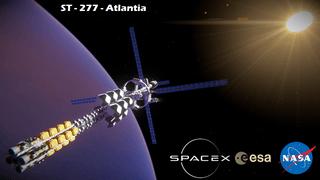 ST-277 Atlantia NASA Exploration ship (No Mods)