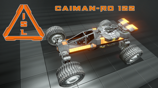 ISL - Caiman-RO 122 Light Armed Vehicle