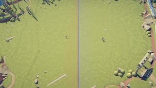 1v1 control battle