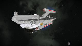 Star Trek - Starhawk Light Destroyer