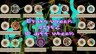 Etaks Wheels DIffz 10 Wheels