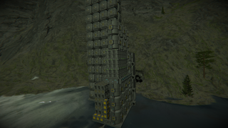 o2 h2 generator and refinery with giant storage