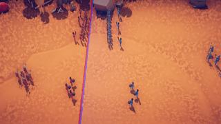 tribal battle