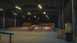 Redbull Maxspace indoor skatepark