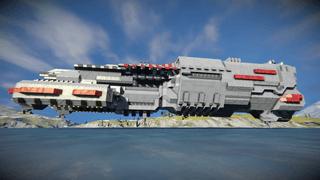 Survival ready Warship can farm ice v2