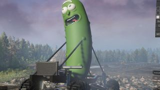 Pickle Rick Mobile (Parade Float)