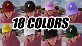 Palace P Logo Hat Pack (18 Colors)