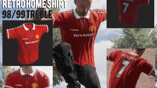 Manchester United Retro 98/99 Shirt - by MADDOG