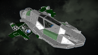 GreenCorp. Advanced Space Fighter