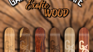 Gaslight Syndicate Presents Exotic Wood Board Pack