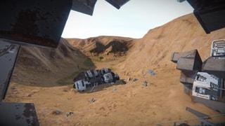 UNS Strident crash site