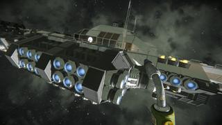 Spys warship