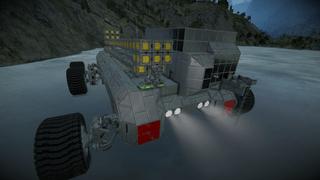 Large mining truck -DMS