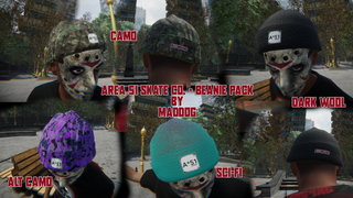 Area 51 Skate Co - Beanie Pack (Fully textured)
