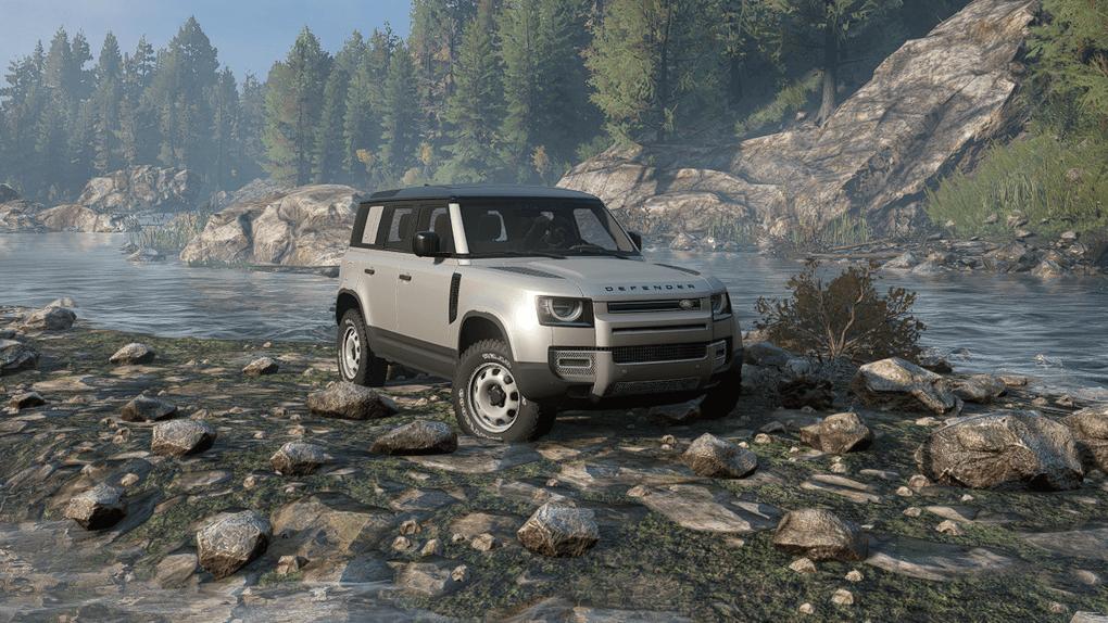 Land Rover Defender 20 mod for SnowRunner - mod.io