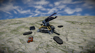 Planetary defense station.