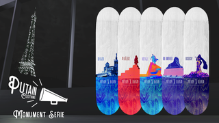 Putain Clothing X Hanzo - Monument Deck Pack