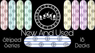 Rhythmic Skateboards Striped Series
