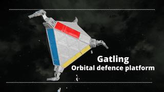 Orbital Defense Platform (Gatling)