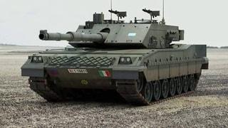 Tank Italian C1 Ariete MBT (By Lixyss)
