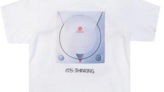 """Dreamcast """"its thinking"""" T-Shirt F&B"""