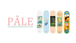 PÂLE Skateboards Decks