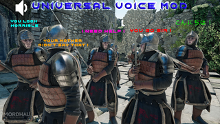 Universal Voice Mod
