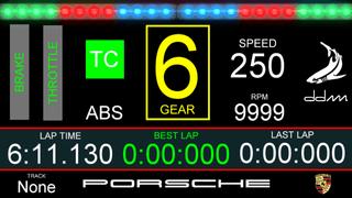 PORSCHE GT3 ddm logo