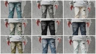 Mahagoni Denim Jeans CROWN 9 Colorways