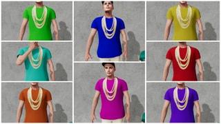 Mahagoni Chain  Shirt v2 8 Colors