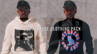OVO x Rhude Clothing Pack by FLYER