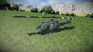 A.  BELL UH-1 HUEY 1:1 scale