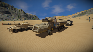 Gauntlet Halftrack Transport