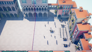 0007 Town fight