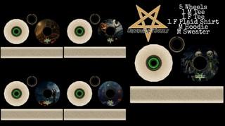 Dishonour Wheels Halloween Series