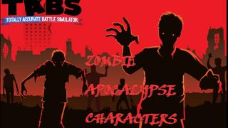   Zombie Apocalyse Characters  